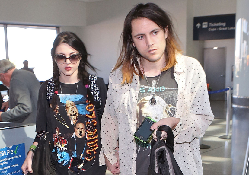 Kurt Cobain's Daughter Frances Bean Files for Divorce