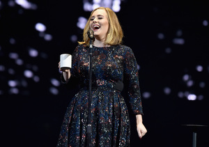 Adele Says Mariah Carey 'Should Be in the Bible,' Rants About Breastfeeding…