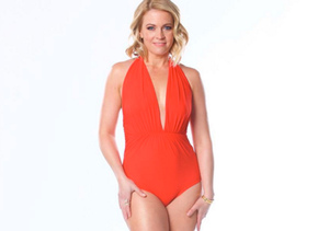 Melissa Joan Hart Shows Off 40-Lb. Weight Loss in Sexy Red Swimsuit