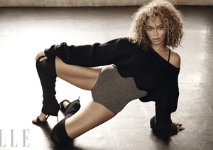 Beyoncé Pays Homage to 'Flashdance,' Comments on Perfection in Elle UK