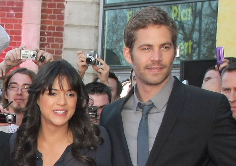Michelle Rodriguez  Opens Up on Her 'Jealousy' of Paul Walker's Death