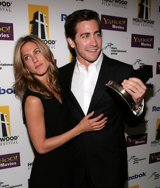 Jake Gyllenhaal on Jennifer Aniston: 'I Had a Crush on Her for Years'