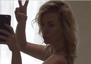 January Jones Posts Sexy Belfie to Gain More Instagram Followers