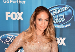 Jennifer Lopez at the Series Finale of 'American Idol'