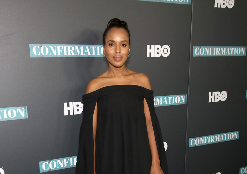 Kerry Washington Speaks Out About Ad Week Cover Controversy