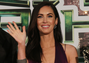 Extra Scoop: See Megan Fox's Response to All the Baby Daddy Speculation