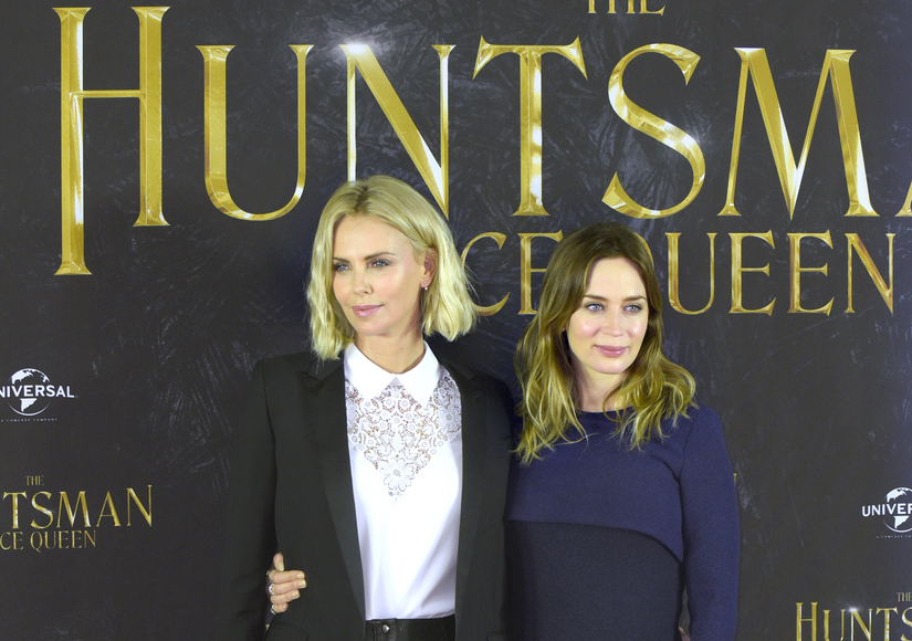 Charlize Theron Dishes on Her Son Jackson Falling in Love with Emily Blunt