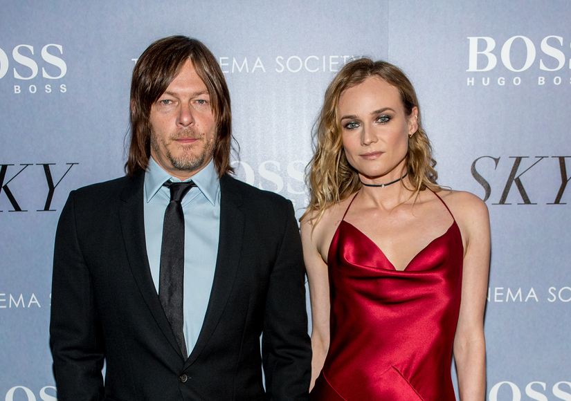 Couple Alert? Diane Kruger & Norman Reedus Spotted Together