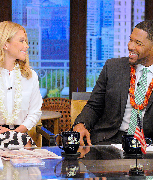 Michael Strahan Is 'Excited' Kelly Ripa Will Return to 'Live!'
