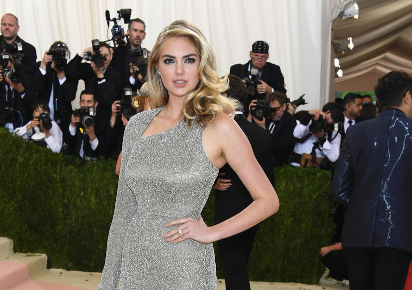 Kate Upton Is Engaged to Justin Verlander, Debuted Huge Ring at Met Gala
