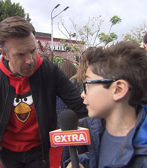 Our Kid Correspondent Asks the Tough Questions at the 'Angry Birds' Premiere