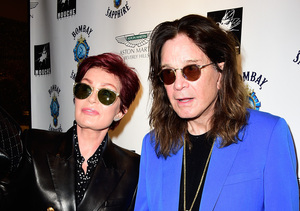 Sharon & Ozzy Osbourne Renew Wedding Vows