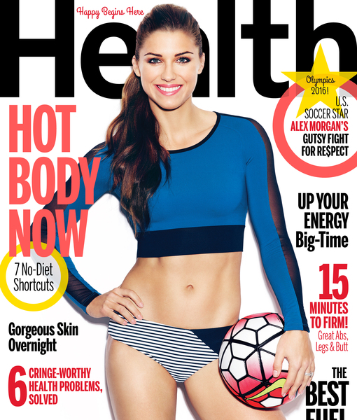 Olympic Athlete Alex Morgan Is Inspired by These Famous Women