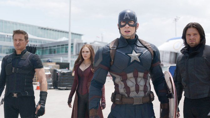 'Captain America: Civil War' Flies High at Weekend Box Office