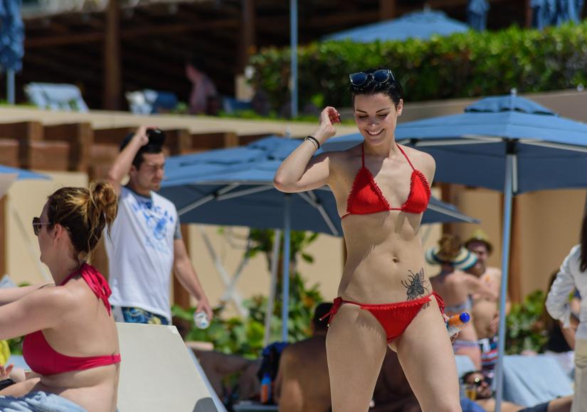 Jaimie Alexander Shows Off Hot Bikini Bod After Broken Engagement with Peter Facinelli