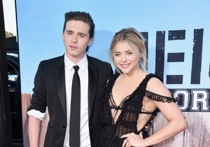 Chloë Grace Moretz & Brooklyn Beckham Make Their Red-Carpet Debut