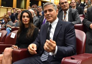 George & Amal Clooney Have the Honor of Meeting the Pope at the Vatican