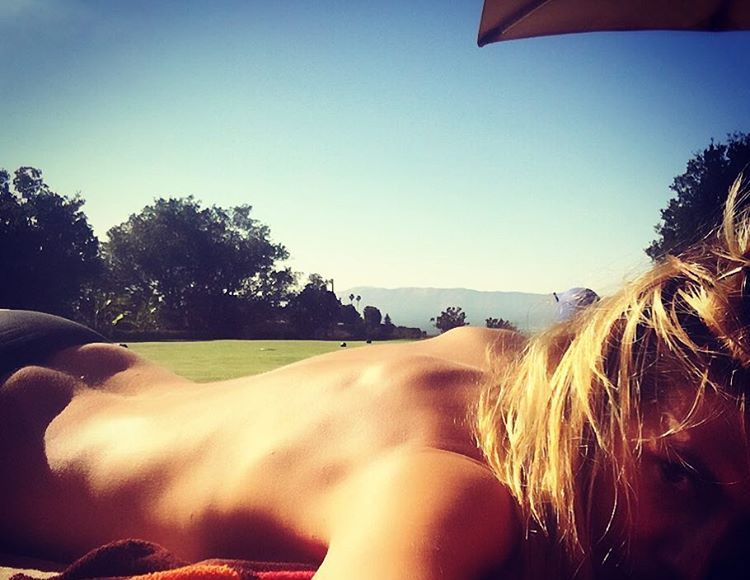 Heidi Klum & Elizabeth Hurley Go Topless to Celebrate the Summer Season