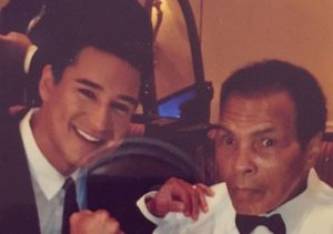 Mario Lopez's Tribute to Muhammad Ali