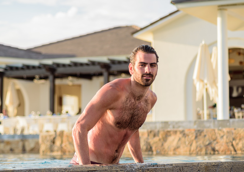 Nyle DiMarco Goes Shirtless on Mexico Vacation