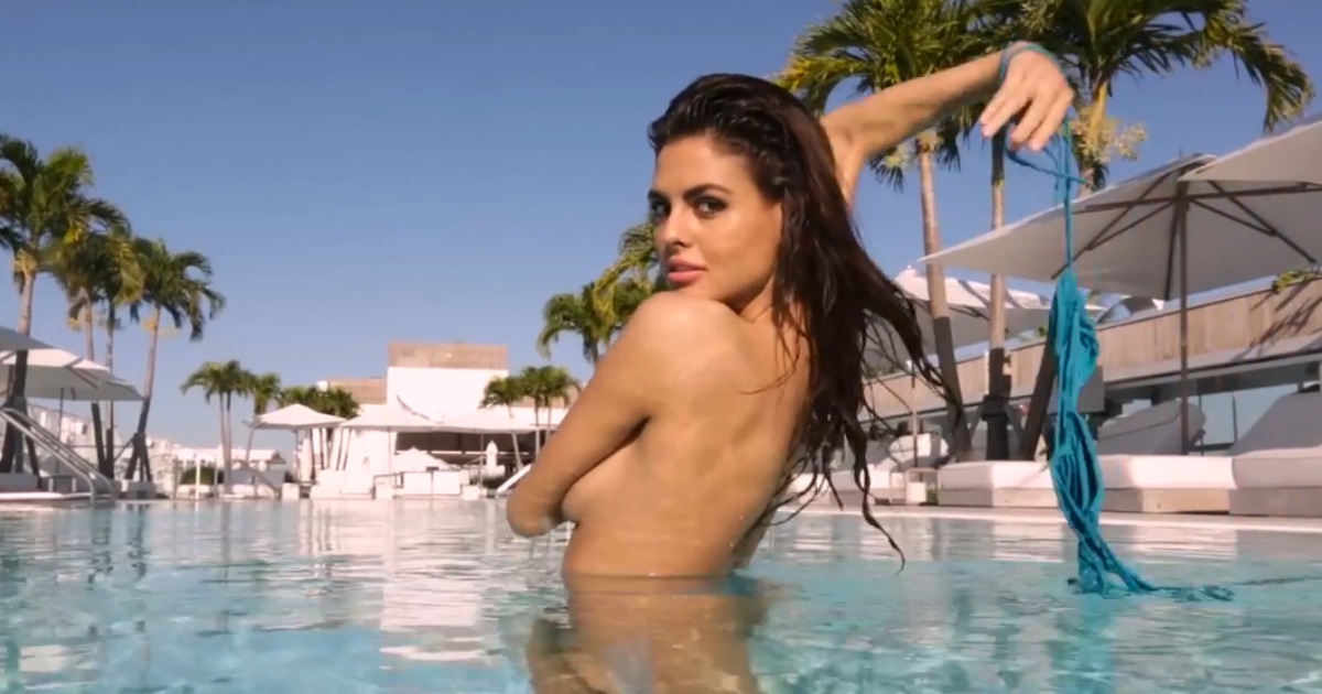 99236917875 Sports Illustrated's Summer of Swim Is More Than Just a Wet & Wild Video  Shoot | ExtraTV.com