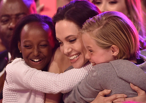 You'll Never Guess Angelina Jolie's Nicknames for Her Kids