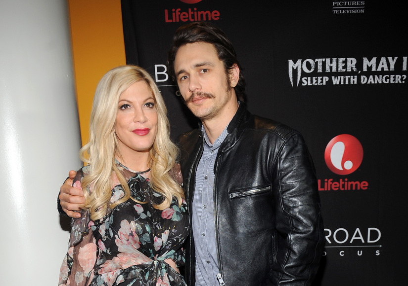 That Time Tori Spelling Projectile-Puked in Front of James Franco