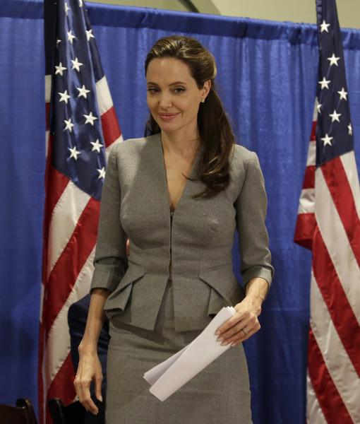 Is Angelina Jolie Moving to  London with the Kids?
