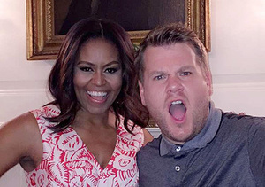 'White House Karaoke! The First Lady Joins Snapchat and James Corden's Carpool