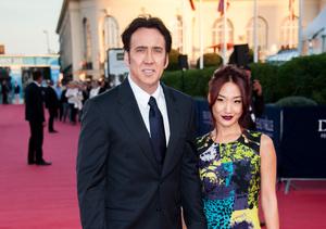 Nicolas Cage & Alice Kim Separate