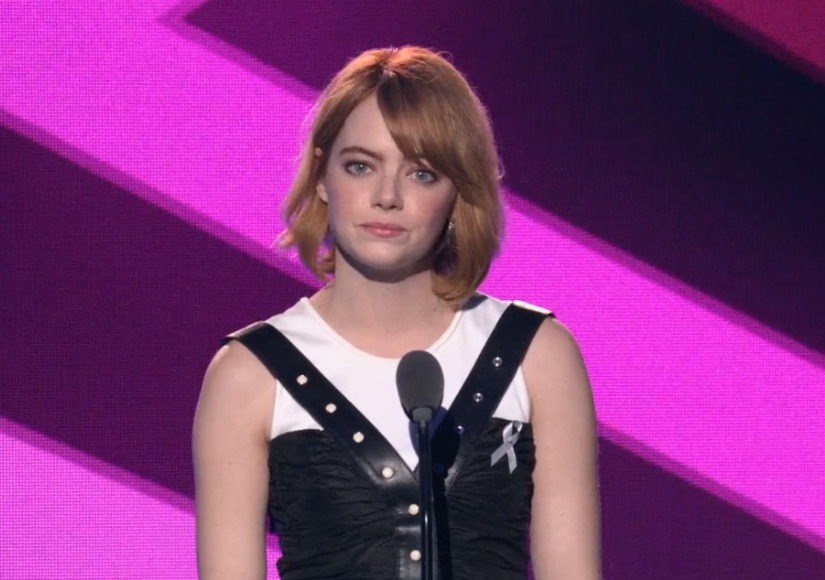 Emma Stone Pays Tribute to Billie Jean King at Trailblazer Honors Awards