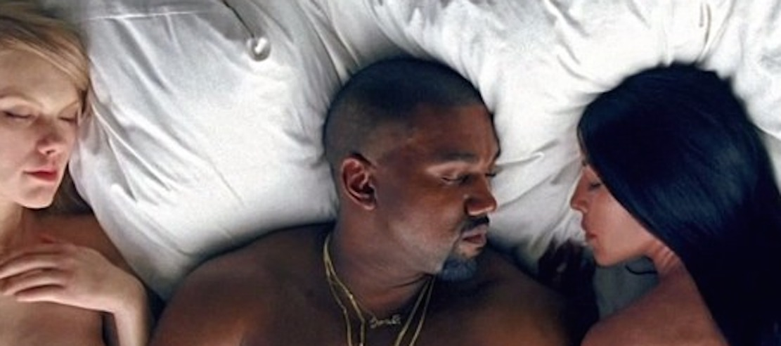 Kanyes Famous Music Video Features Nude Look-Alikes Of -8320