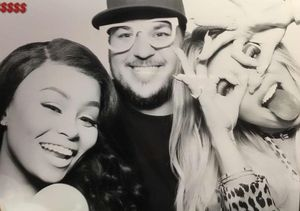 Rob Kardashian & Blac Chyna Celebrate Khloé's Drama-Free Birthday Party