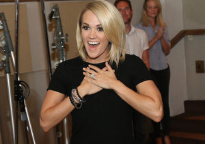 Exclusive! Carrie Underwood Takes 'Extra' to Her Oklahoma Hometown
