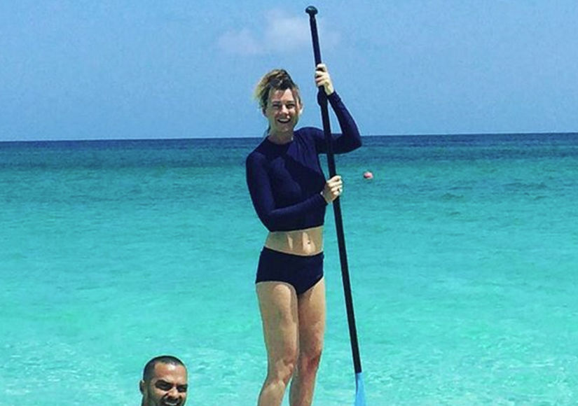 Video! See Ellen Pompeo and Jesse Williams Make a Splash in Hawaii