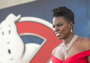 'Ghostbusters' Star Leslie Jones Rocks It in Red at Premiere