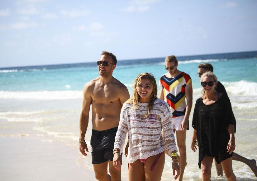 Chloë Grace Moretz's Paradise Vacation Sans Brooklyn Beckham