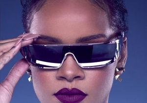 Striking a Pose! See Rihanna Model Her New Dior Shades