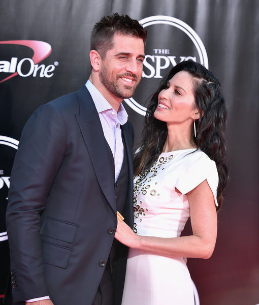Olivia Munn Comments on Aaron Rodgers' Family Feud