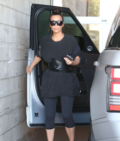 Kim Kardashian Steps Out After Releasing Taylor Swift & Kanye West's 'Famous' Conversation
