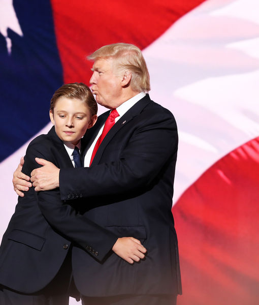 Donald Trump's Youngest Son Has Priceless Reaction to His RNC Speech