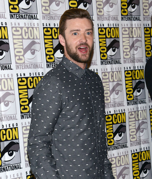 Comic-Con: Justin Timberlake Says He's Not Ready to Show 'Trolls' to Son Silas Just Yet