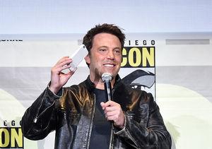 Batman Ben Affleck Swoops into Comic-Con