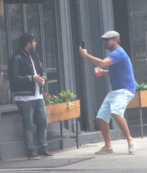 See What Happens When Leonardo DiCaprio Ambushes Jonah Hill in NYC!