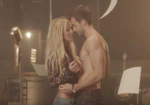 Britney Spears Gets Down and Dirty with Shirtless Hunk in 'Make Me…' Music…