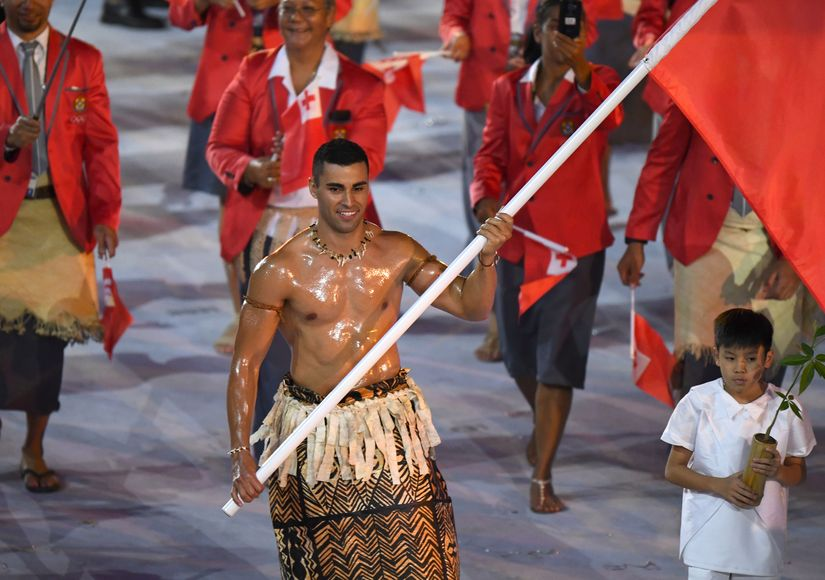 Team Tonga: Meet the Olympic Hunk Everyone's Talking About