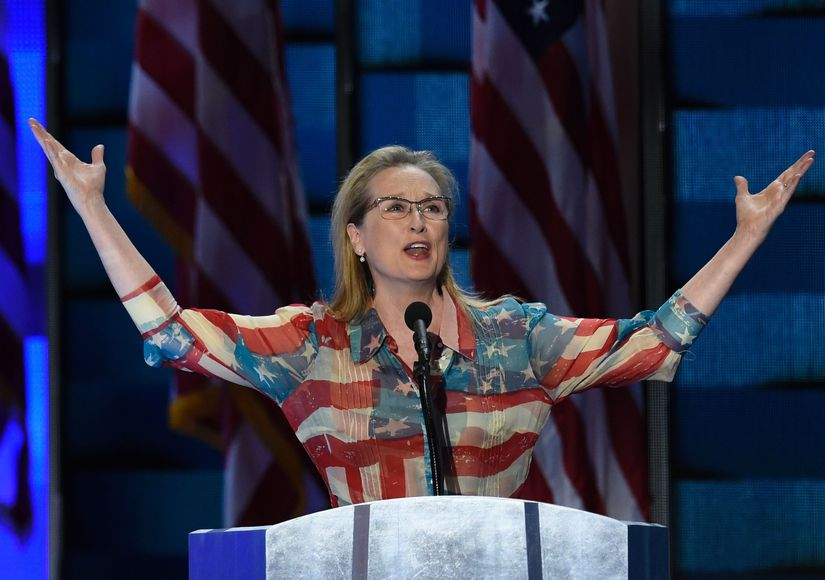 Meryl Streep Reacts to Hillary Clinton Wanting the Oscar Winner to Play Her in a Movie