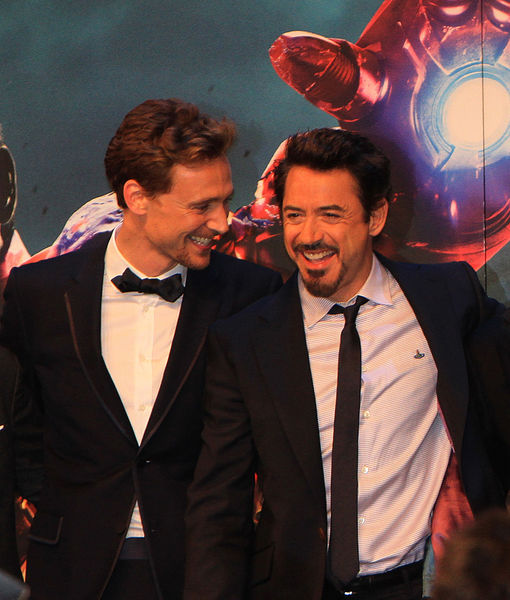 Robert Downey Jr. Welcomes Tom Hiddleston to Instagram with Hiddleswift Joke