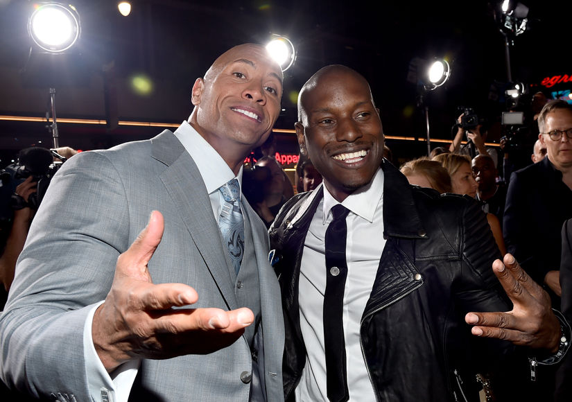 Tyrese Gibson Reacts to The Rock's 'Furious' Comments