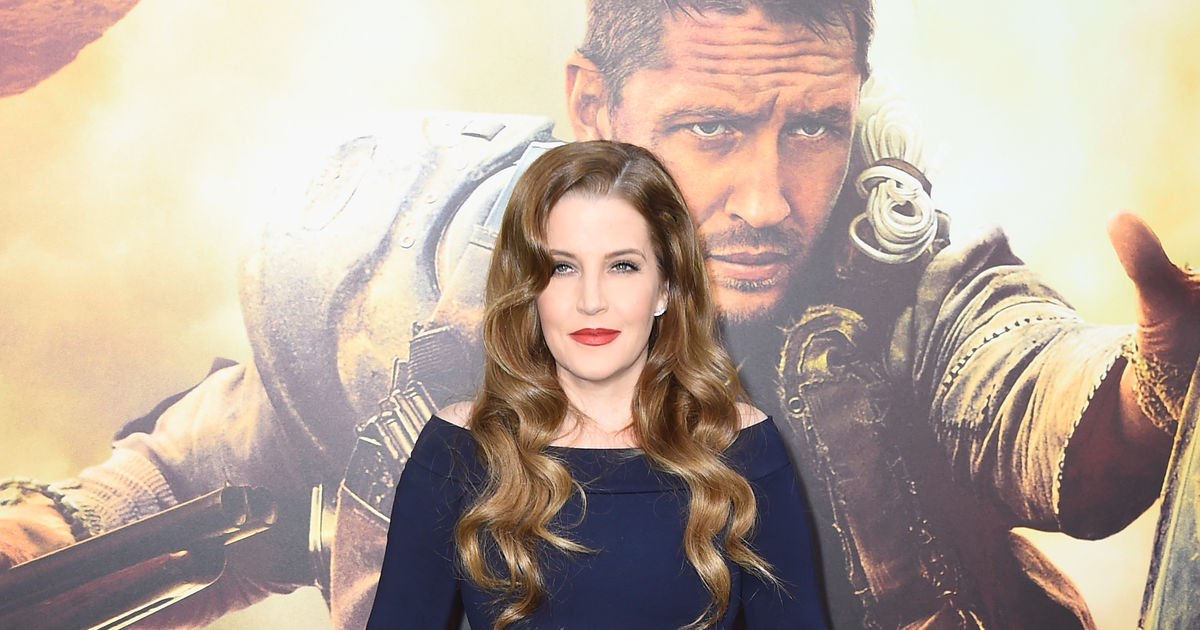 Mama Lion' Lisa Marie Presley Shares Rare Family Photo with All of